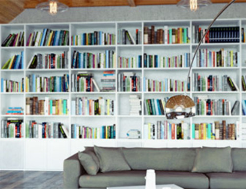 Eight Clever Ways to Store Books Around the House