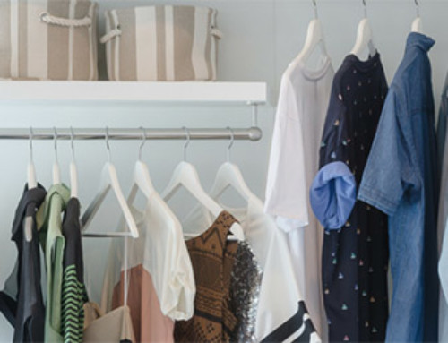 Moving a Closet: Pack and Unpack in Three Stages